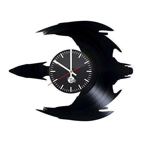 Star Trek Bird Of Prey Vinyl Record Wall Clock Star Trek Vinyl Record Art Record Art