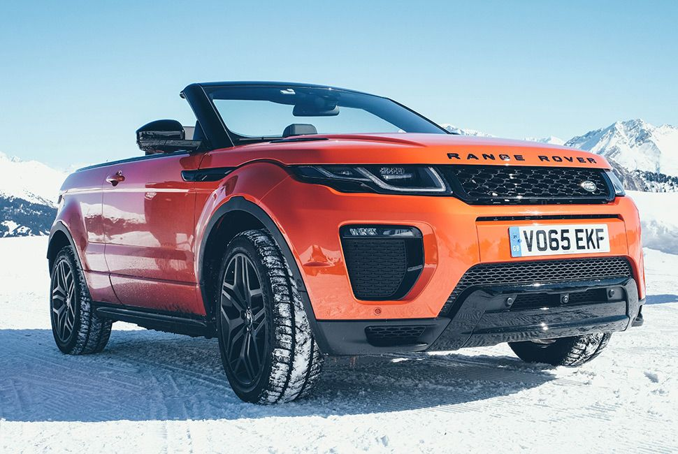 Photo of Review: 2017 Range Rover Evoque Convertible. Yes, Convertible.