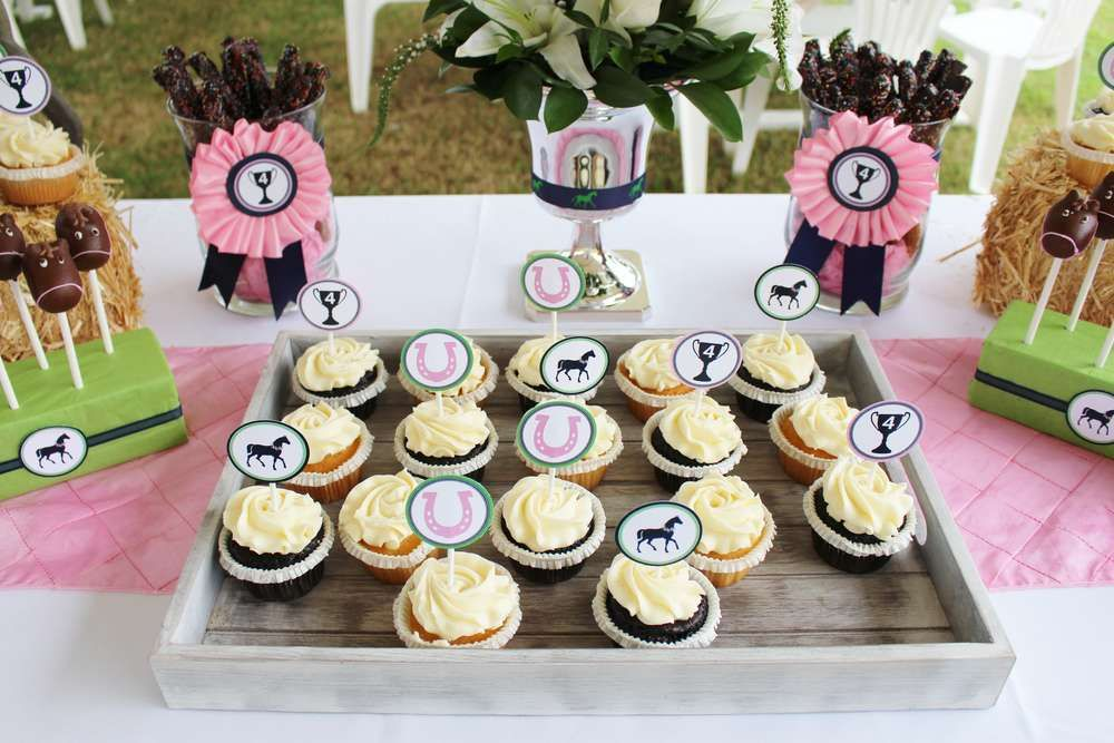 Kentucky Derby Birthday Party Ideas Party Cupcakes Kentucky - Children's birthday parties derbyshire