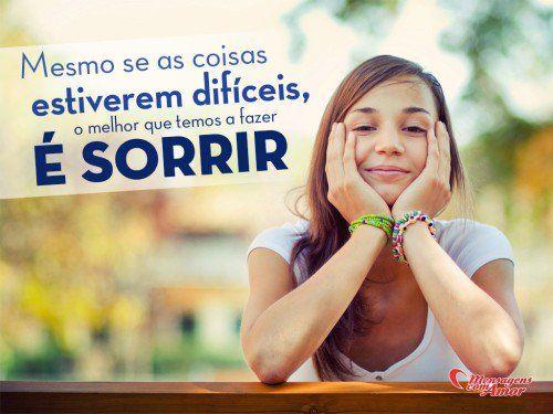 O sorriso é o sentimento mais bonito que o nosso coração liberta.!...