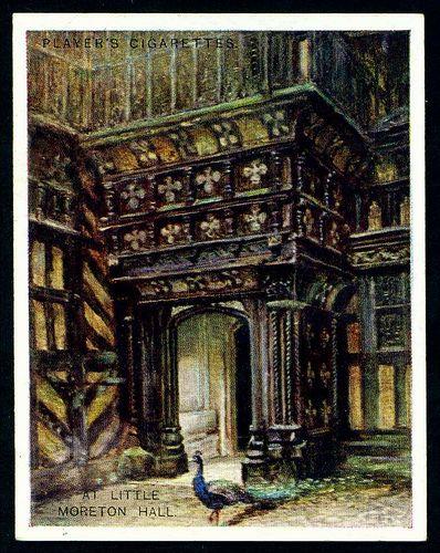 Cigarette Card - Little Moreton Hall by cigcardpix, via Flickr