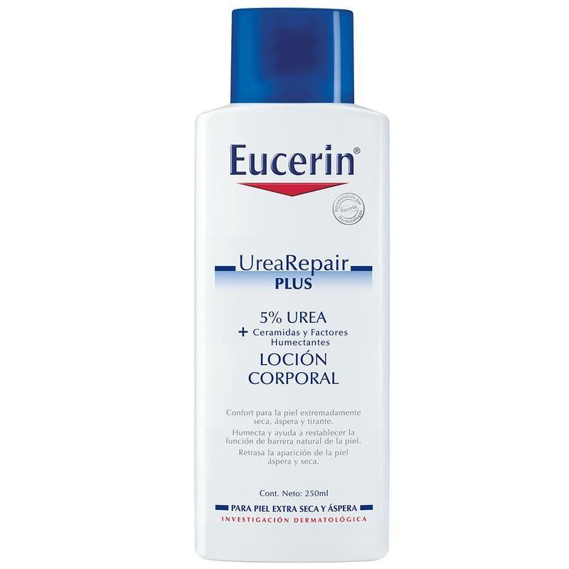 Eucerin Urea Repair Plus 5 Derma Express Mx Locion Corporal Piel Seca Locion