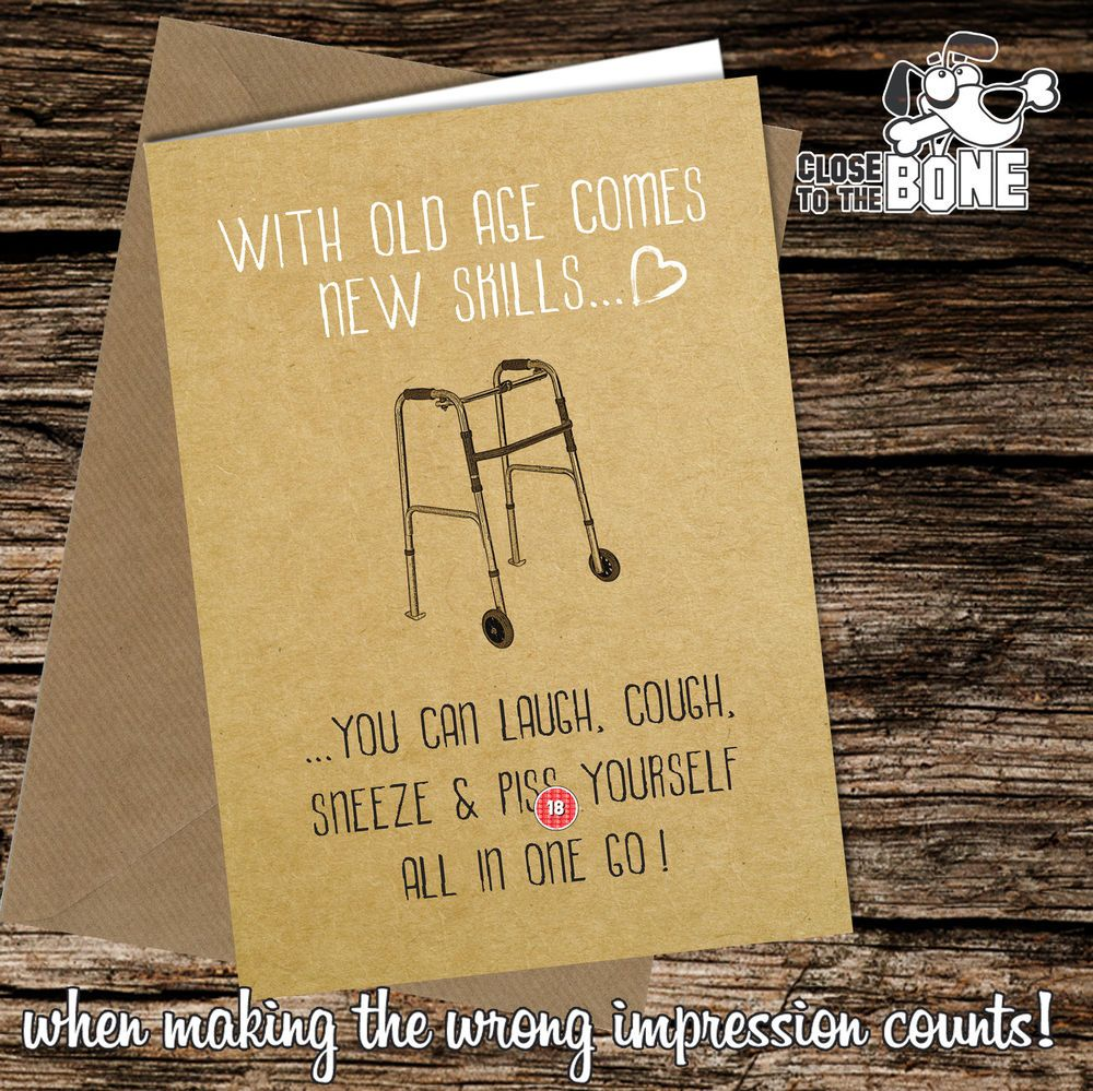 Greetings Card Comedy Rude Funny Humour Birthday or Fathers Day Dad Daddy #175  | eBay