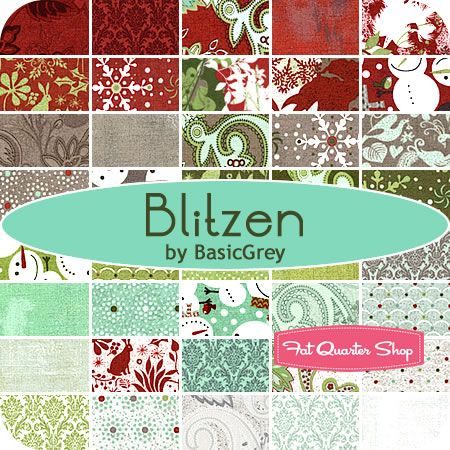 I Love This Collection For A Christmas Quilt Blitzen By