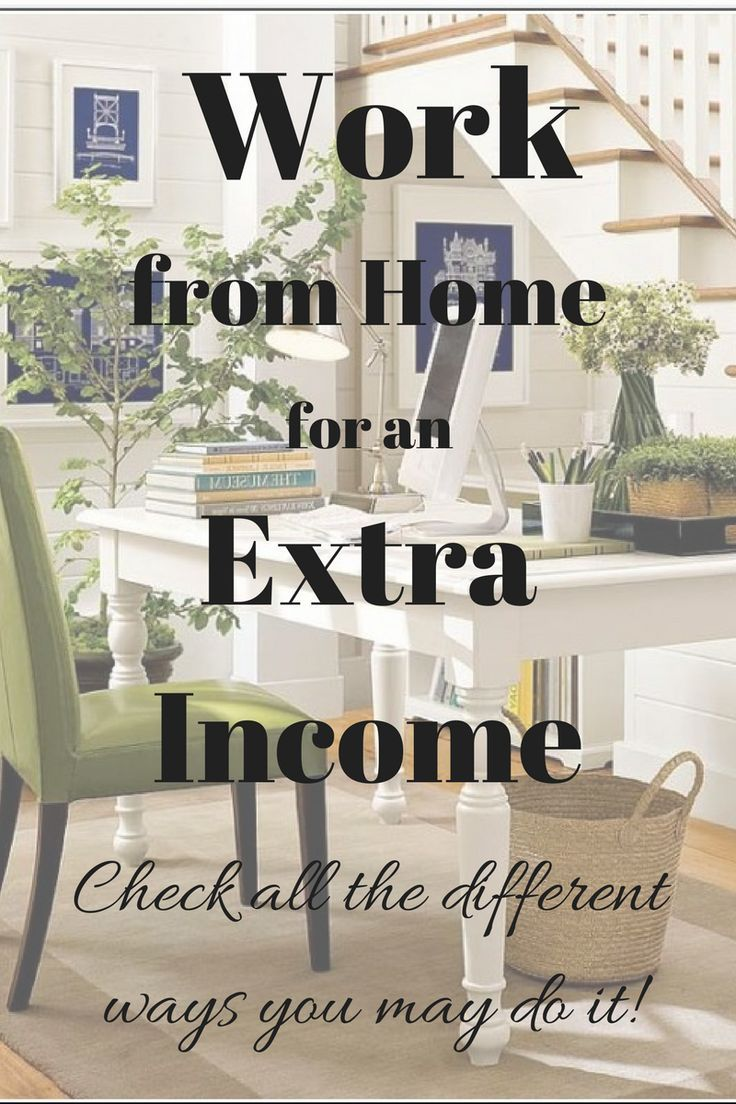 There are different ways to work from home and here you may learn ...