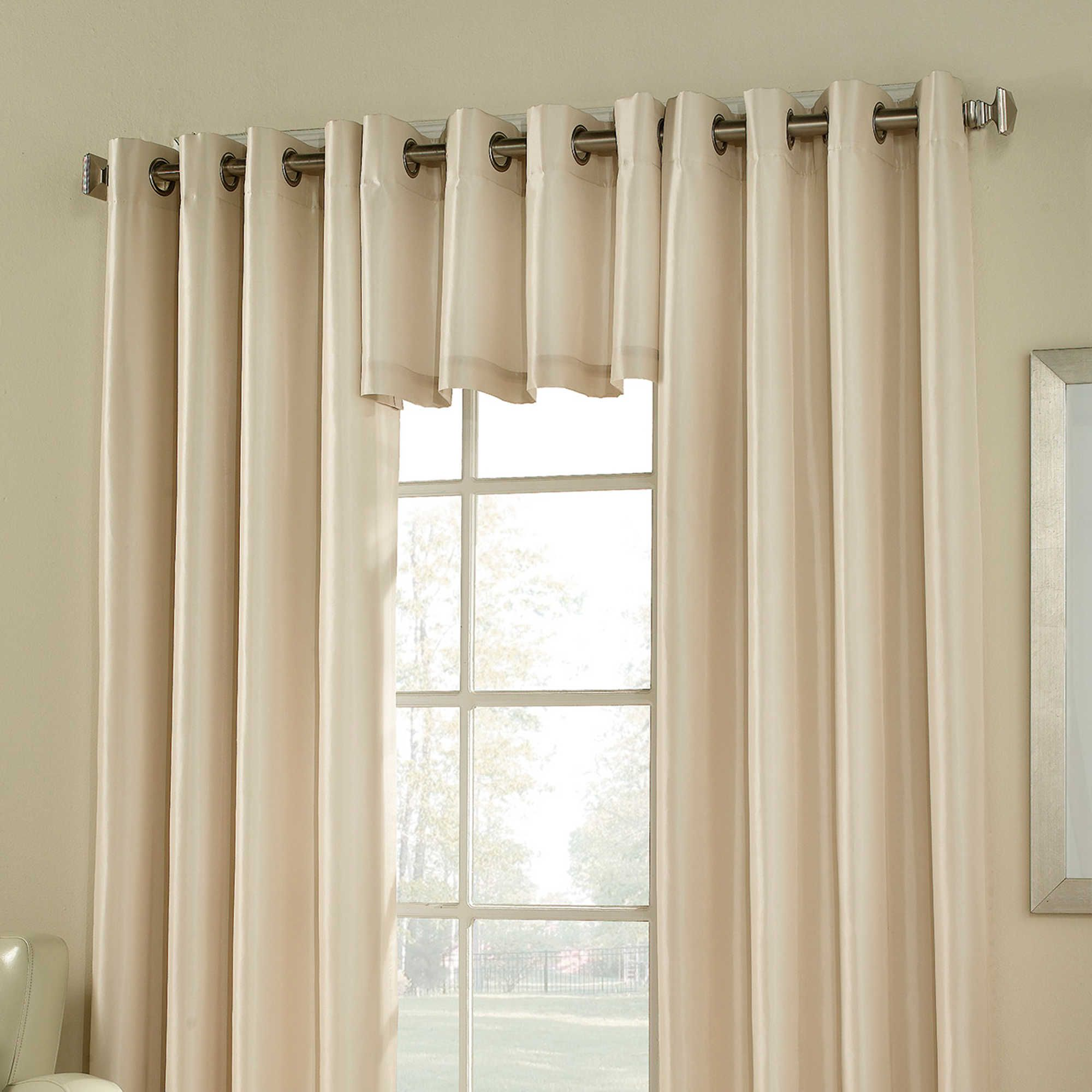 Window coverings types  argentina room darkening grommet window valance  шторы  pinterest