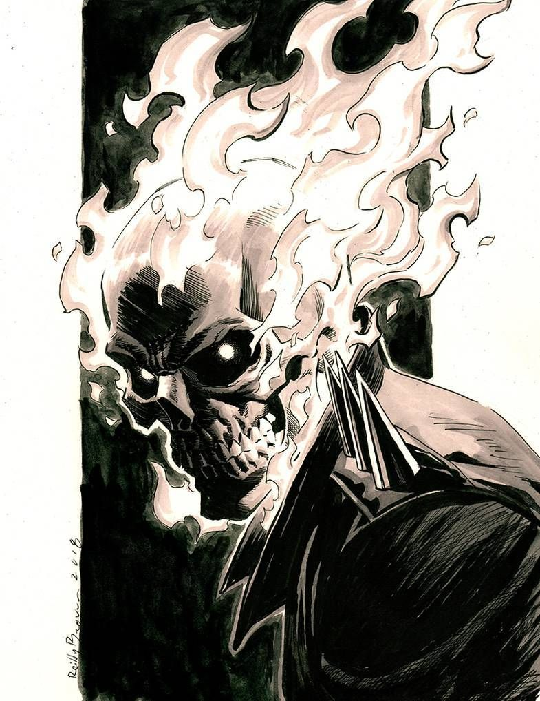 View Ghost Rider Images Drawing Pics