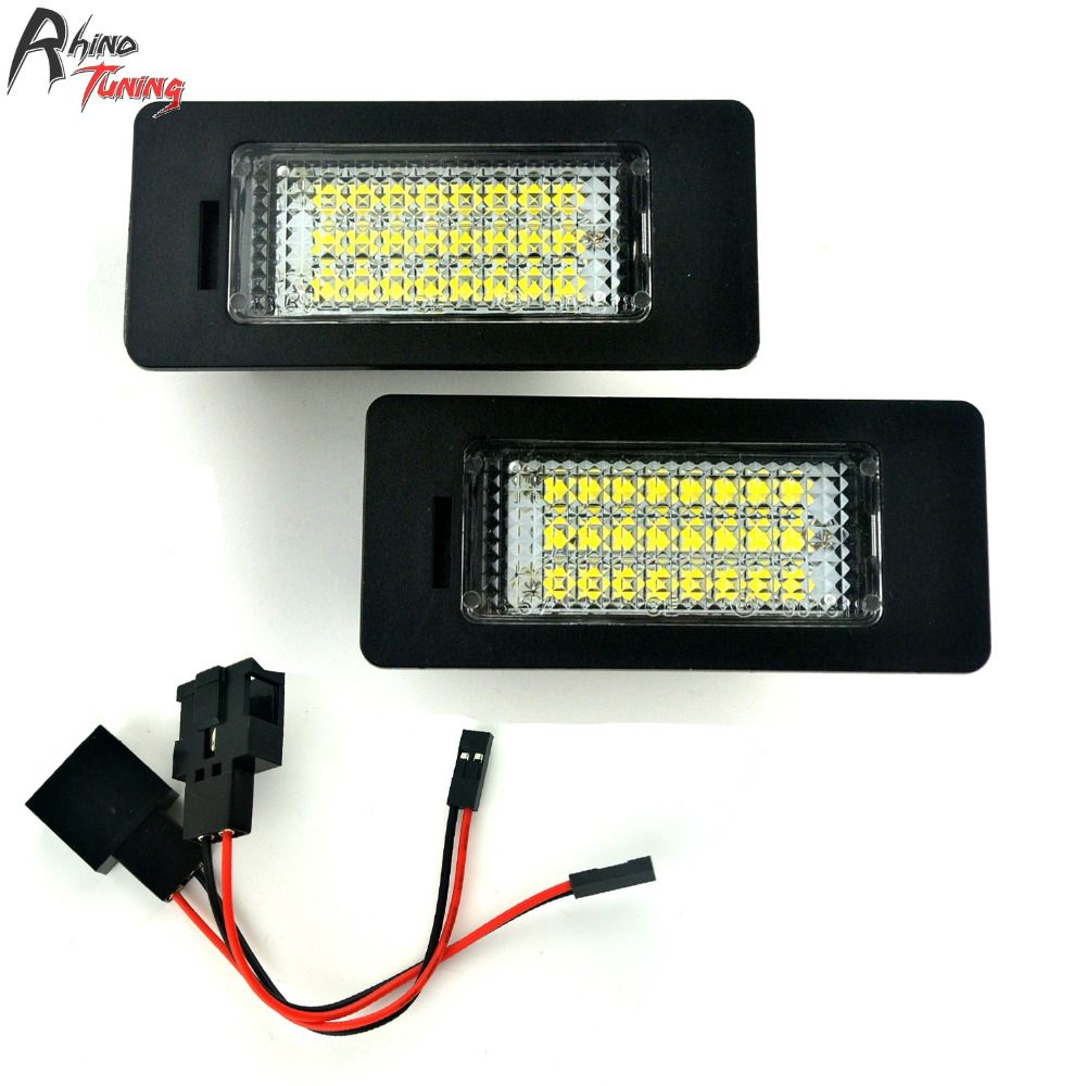 Rhino Tuning 2PC LED Light Car License Number Plate Light For Passat R36 A1 A4 A7  sc 1 st  Pinterest & Rhino Tuning 2PC LED Light Car License Number Plate Light For Passat ...