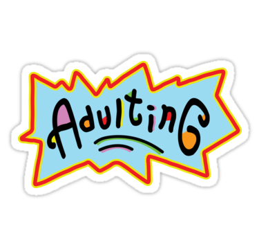 Tumblr Aesthetic Adulting Retro 90s Kid Sticker By Studioblack Tattoos For Kids Kids Stickers 90s Kids