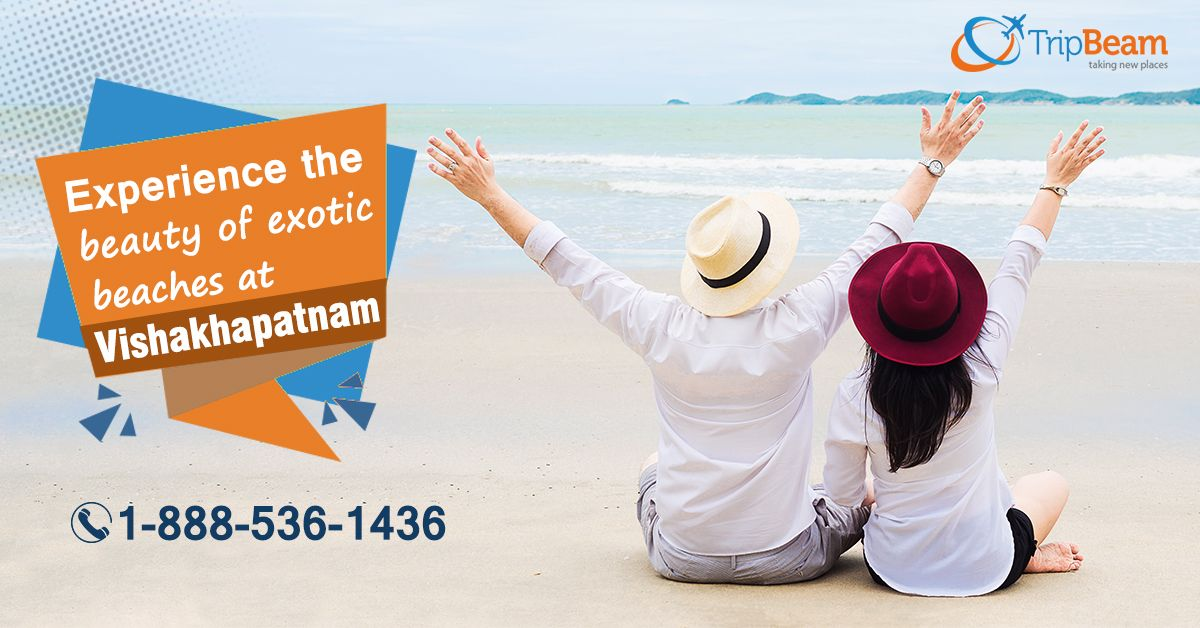 Plan an unforgettable trip to #Visakhapatnam with #Tripbeam! Enjoy the elegance of tropical #beaches within your budget! Hurry! Contact us today.     For more information: Contact us at: 1-888-536-1436 (Toll-Free), info@tripbeam.ca.  #AndhraPradesh #beachesbeauty #beauty #naturebeauty #CanadatoIndiaflightdeals #beautifullocation #CanadatoIndiaflights #tourism #CheapAirTickets #CheapFlightTickets #Vacation #Destinations #TravelDeals #TravelOffers