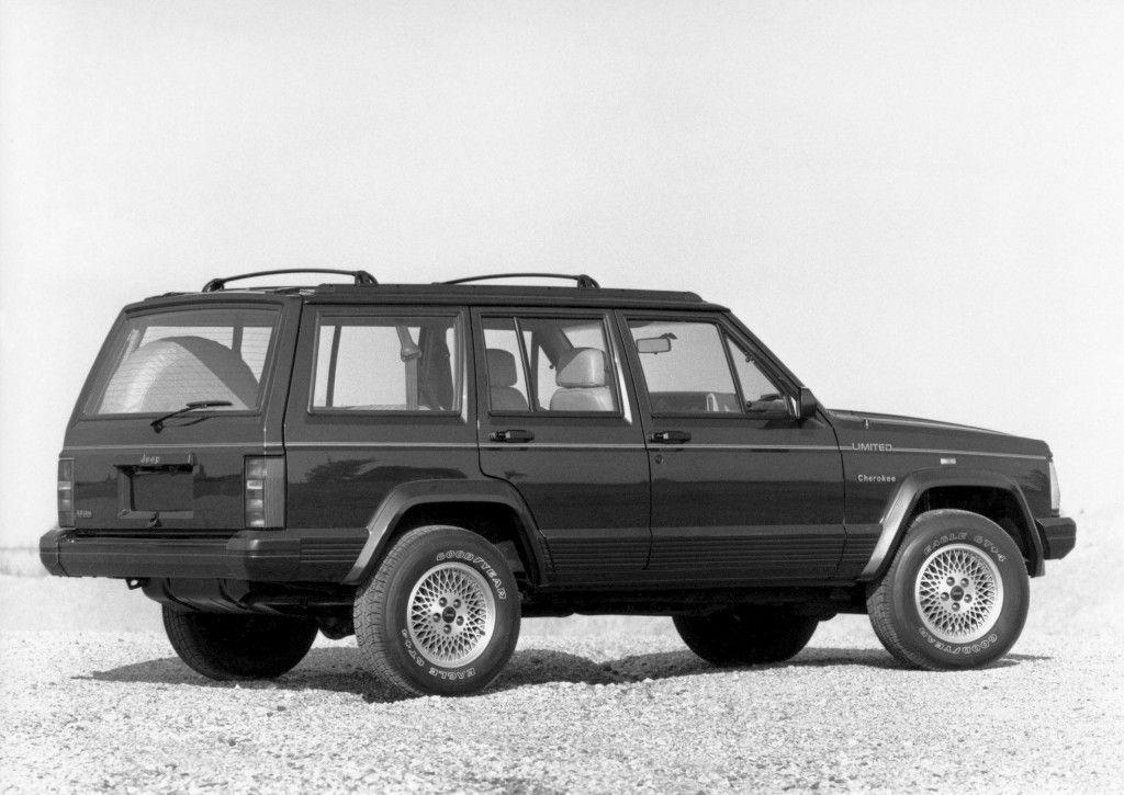 Jeep Cherokee Limited Worldwide Xj 1991 92 Jeep Cherokee Limited Jeep Cherokee Jeep