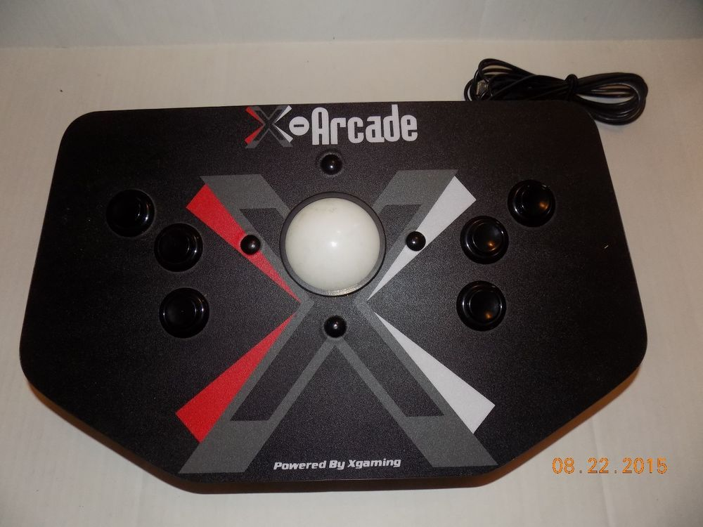 X-Arcade Trackball Video Game Controller by Xgaming wired black