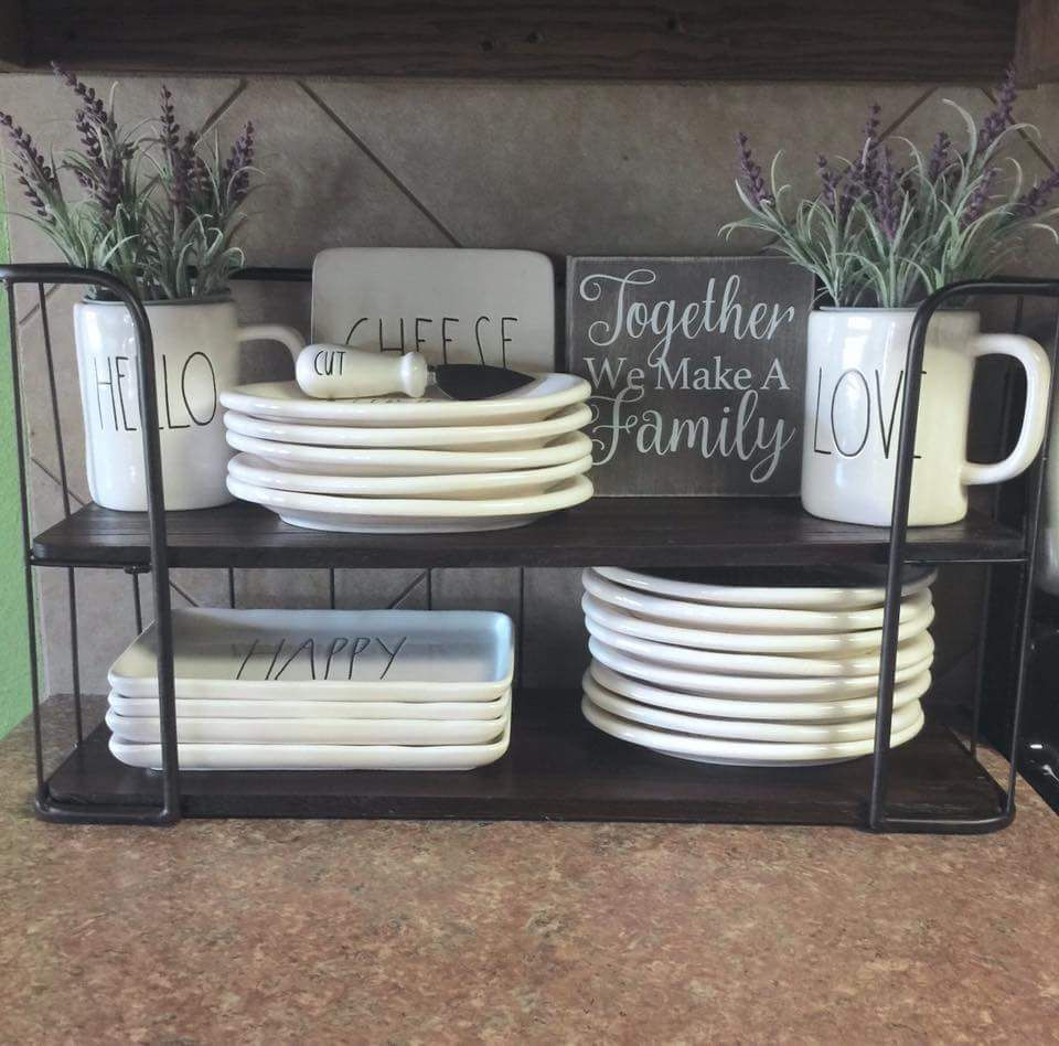 Hobby lobby rack Rae Dunn New Obsession Pinterest