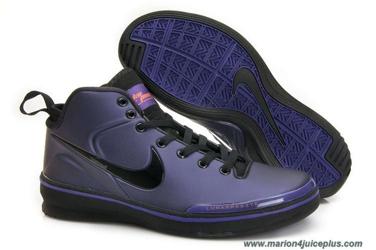 buy online dc830 564d4 Cheap Nike Zoom Lunarposite Purple black