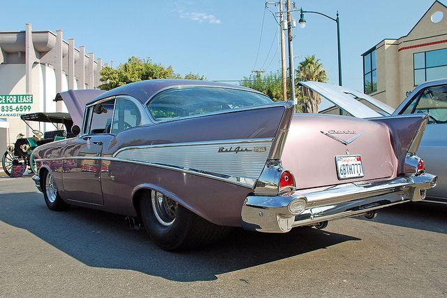 1957 Chevrolet Belair Autos Viejitos Y Coches