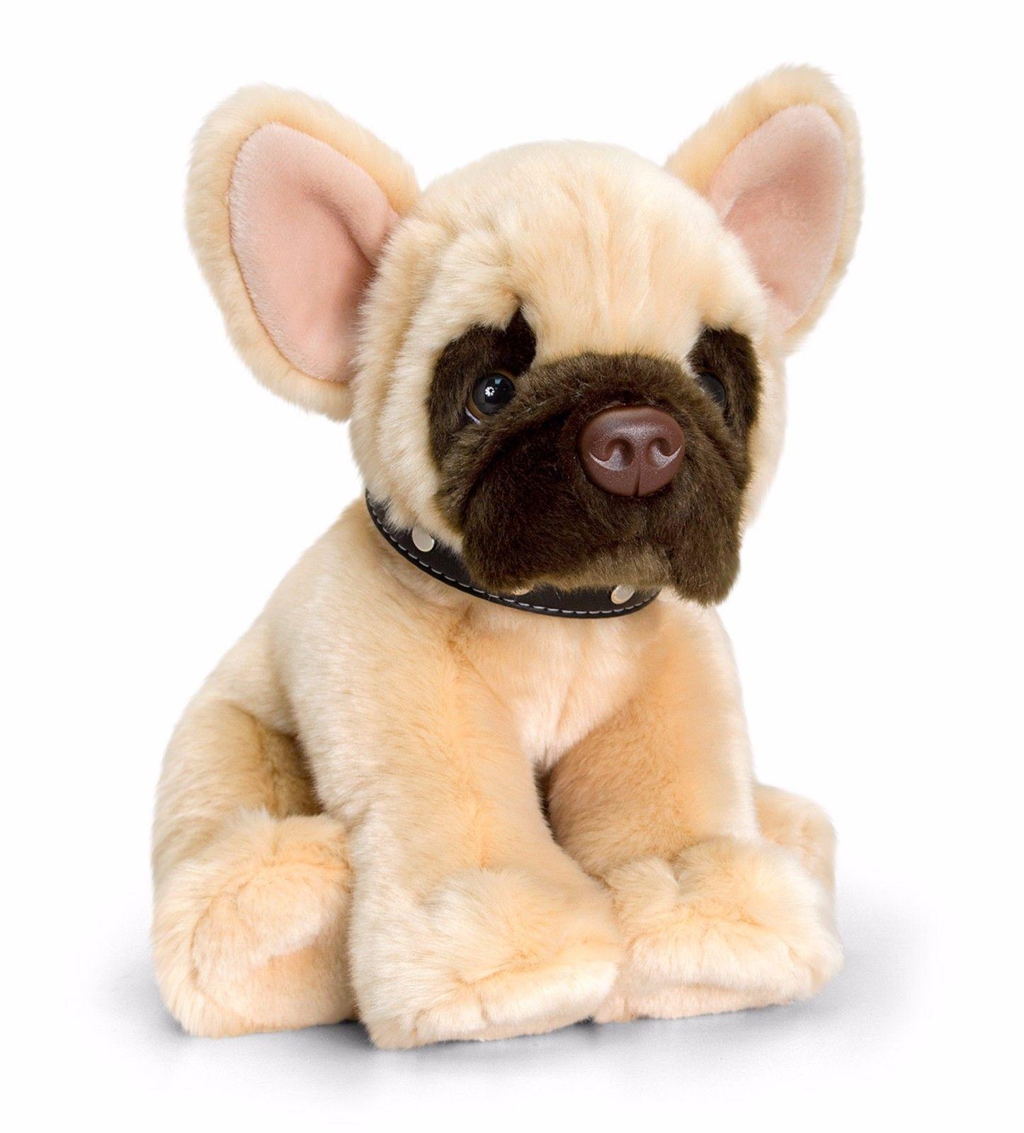 Keel soft plush toys french bulldog large 35cm dog lovers