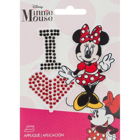 915336fd2 ©Disney Minnie Mouse Small Iron-On Applique