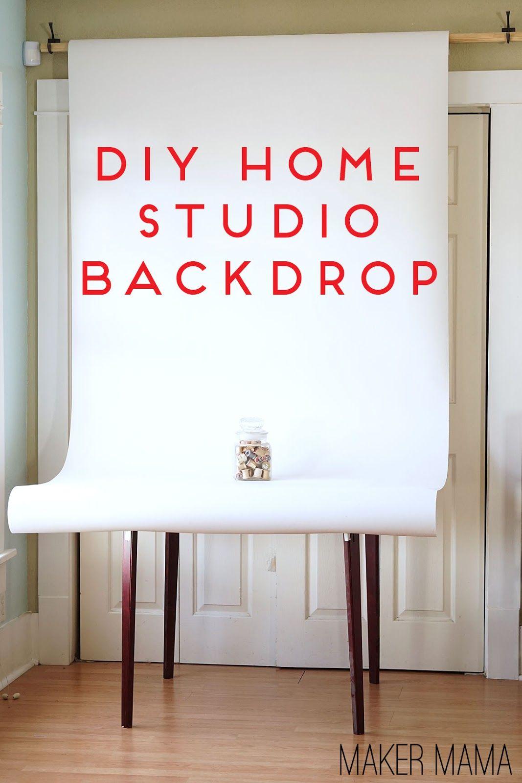 Diy Photo Backdrop Maker Mama Home Photo Studio Diy Photo Backdrop Studio Backdrops