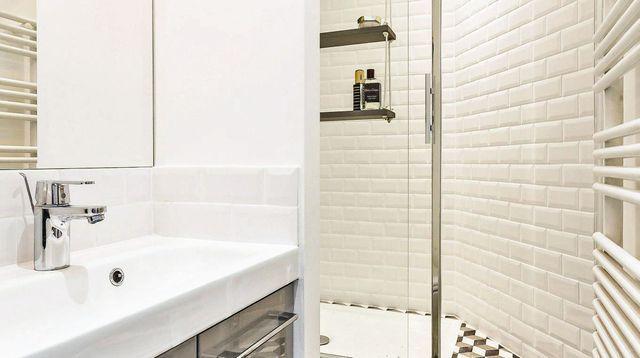 Rénovation Dune Petite Salle De Bains De M Studio Small - Salle de bain 5 m2