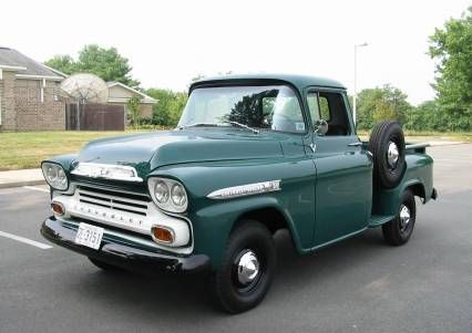 1959 Chevy Apache 1 2 Ton Short Bed Frame Off For Sale Chevy