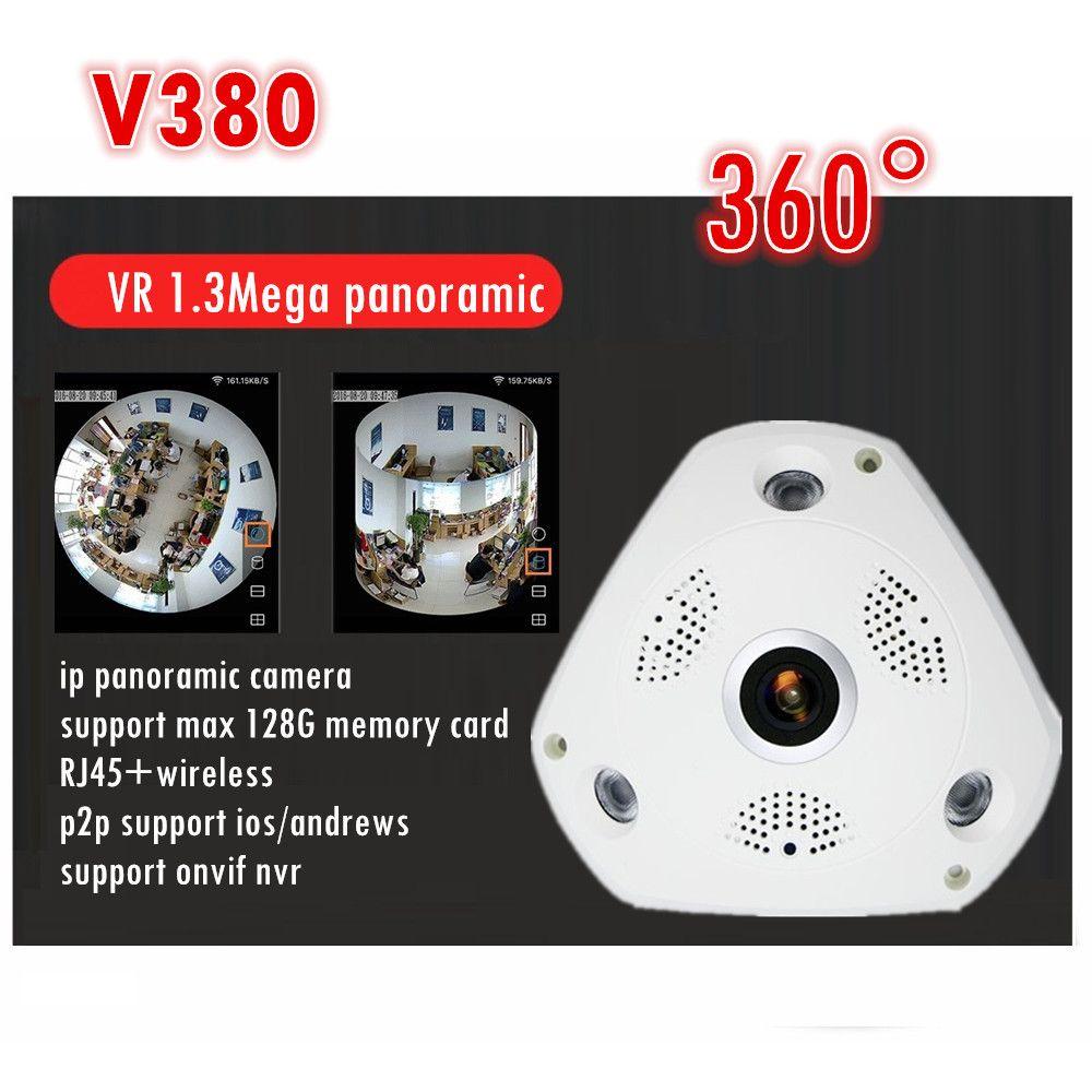 WIFI IP Camera 360 Fisheye Panoramic Dome Camera 1 3MP 960P ONVIF