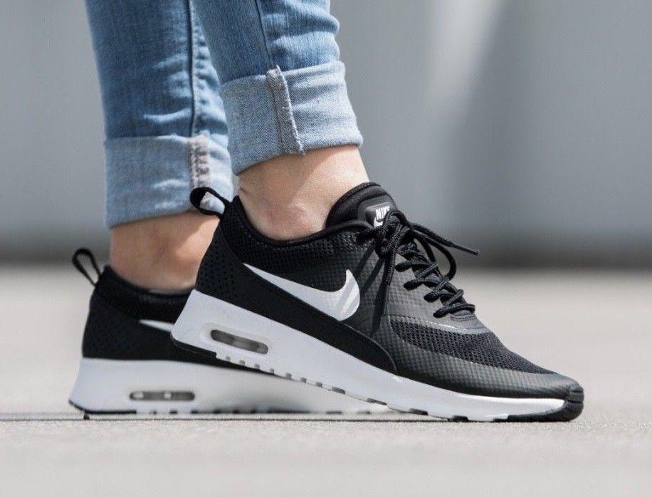 Nike Air Max Thea 599409 020 Black White Womens Sportswear