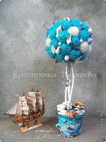 Топиарий на морскую тему