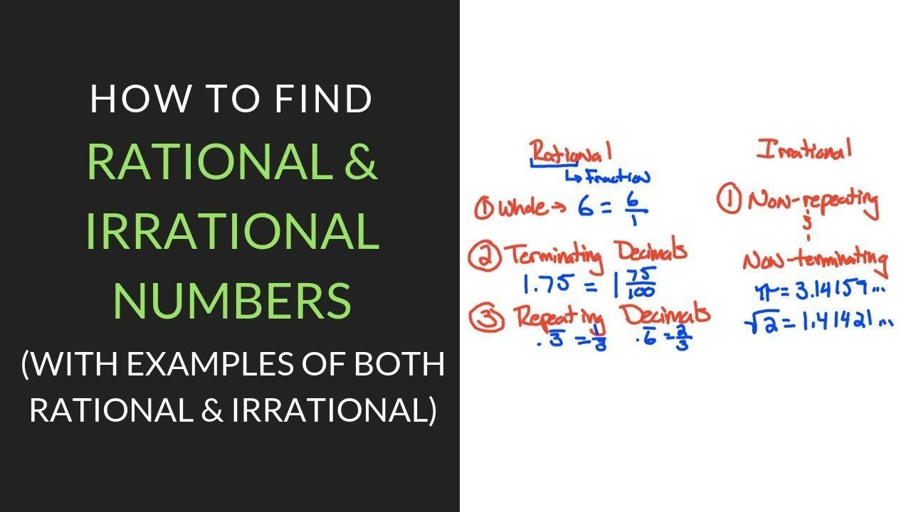 Rational Irrational Numbers Worksheet Rational And Irrational Numbers Worksheet Number Worksheets Irrational Numbers Kids Worksheets Printables