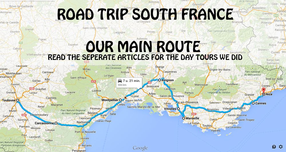 Map Of France South.Road Map Of Southern France Kameroperafestival