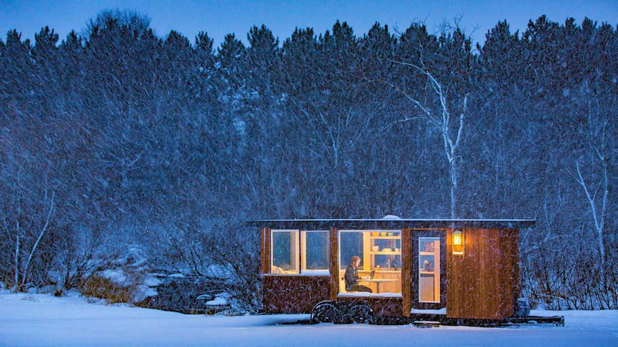 Vista by Escape Travelers Tiny House Swoon An open floorplan
