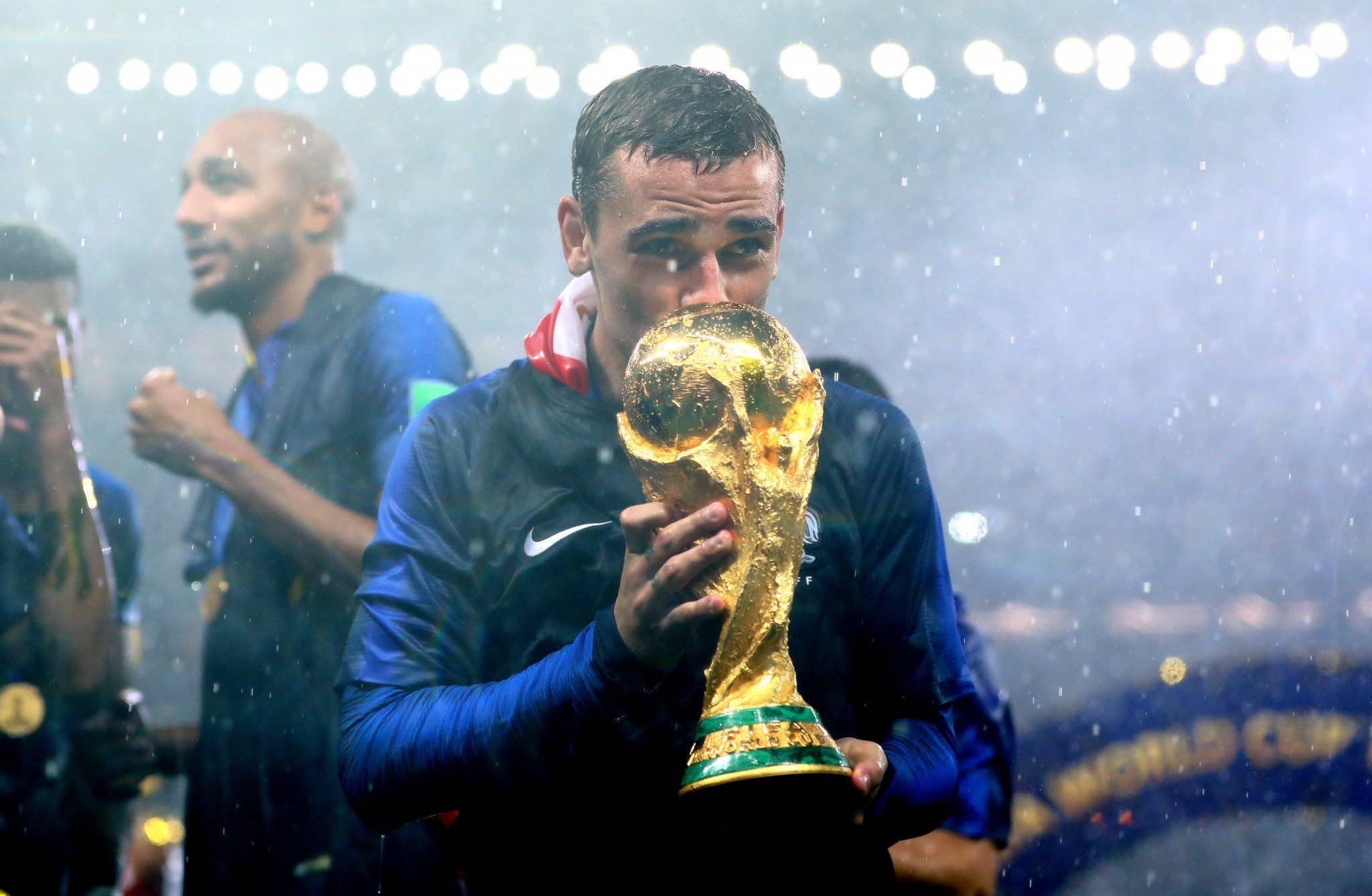 I Ll Be The First To Buy The Jersey With The Two Stars Griezmann Fifaworldcup With Worldcupfinal Antoine Griezmann Griezmann Man Of The Match