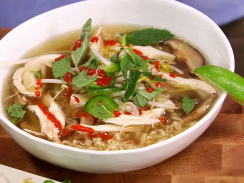 Vietnamese chicken noodle soup video food network foodnetwork explore chicken soup recipes and more vietnamese chicken noodle soup video food network forumfinder Image collections