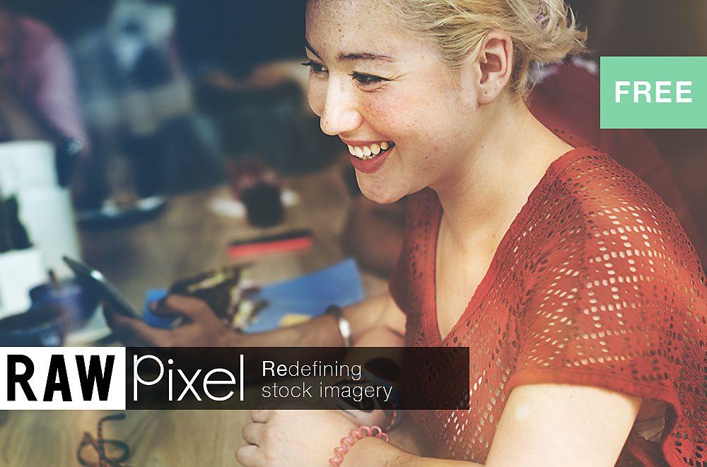 Free Premium Stock Photos - Beautiful blonde asian woman.