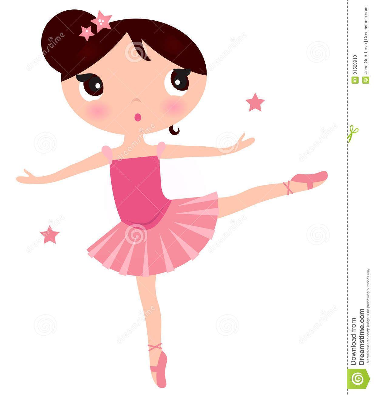 Printable Cute Ballerina Clip Art | Beautiful little ...