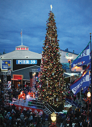 Christmas at Pier 39