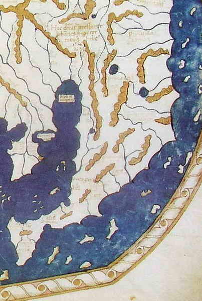 Partial Map of Florence 1489