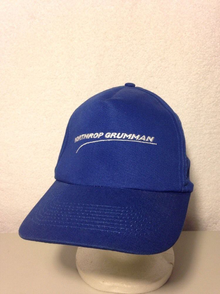 b90e7a9c0 Northrop Grumman Hat Vintage Blue Embroidered Snapback Cap #NAVY ...