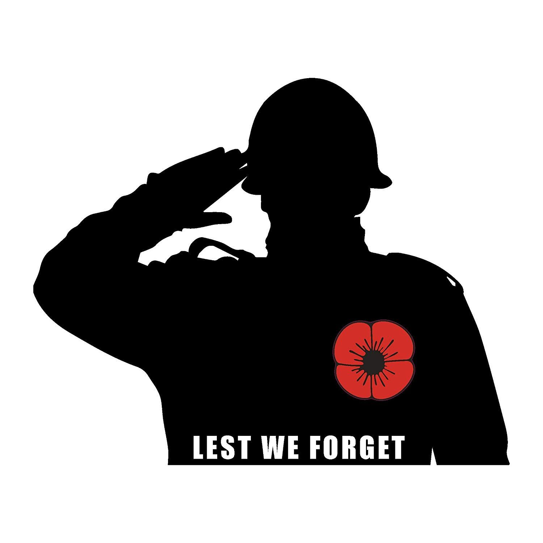 Remembrance Day T-Shirt Armistice Day UK Flag Lest We Forgot Ladies Top