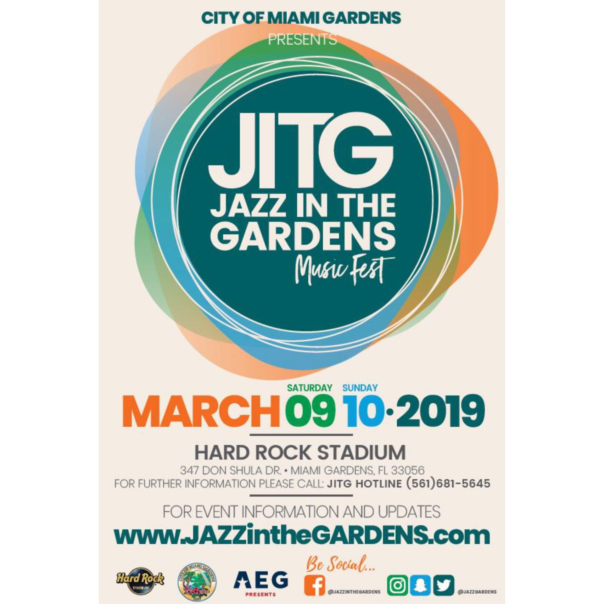 3c27cfd8bf0206b89449bb3d6f591fba - Jazz In The Gardens 2019 Schedule
