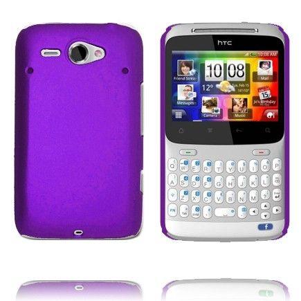 Hårdskal Version 2 (Lila) HTC ChaCha-Skal