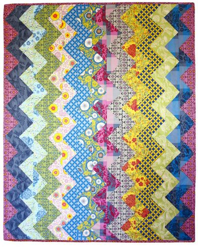 Folk.Dance.Quilt by annamariahorner