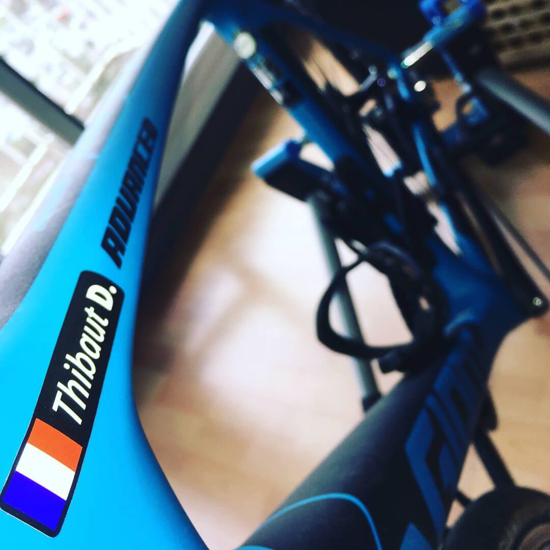Home Bicycle Maintenance Biking Benefits Name Stickers