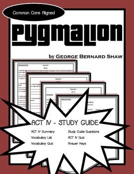 pyg on act iv study guide george bernard shaw george  pyg on act iv study guide george bernard shaw