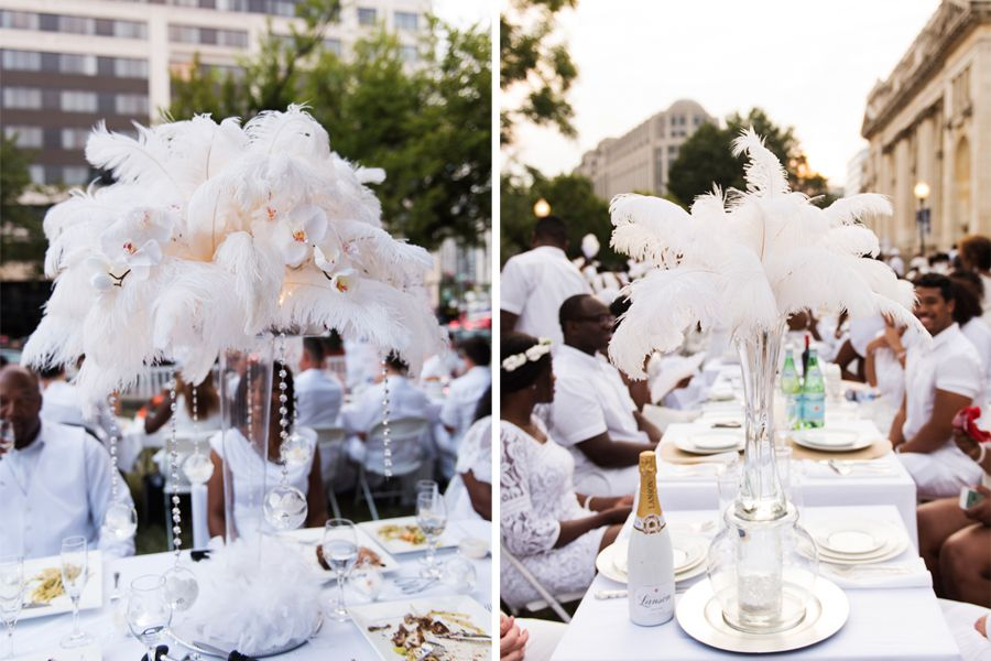 feather centerpieces! 2016?