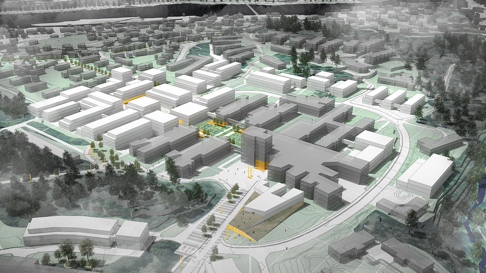 Universitetsbyen Kristiansand - JUUL | FROST ARKITEKTER