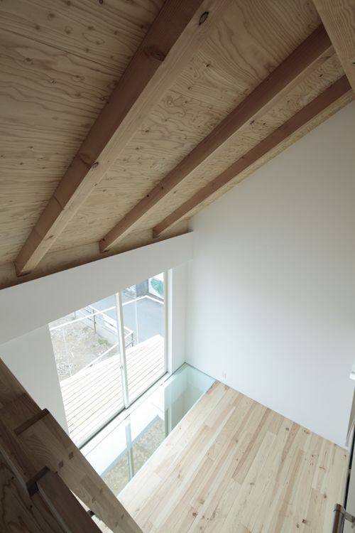 Upper most loft of Shakujii Y house? Ikeda Yukie Architects. The house is all really cool.