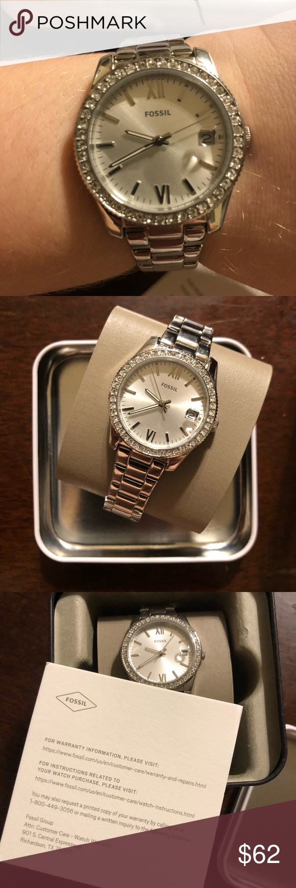 How To Get Links Out Of A Fossil Watch