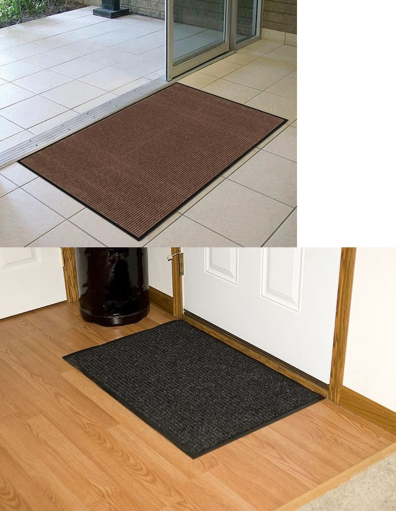 Door Mats And Floor 20573 Heavy Duty Commercial Entrance Mat Indoor Outdoor Office Business It Now Only 26 1 On Ebay