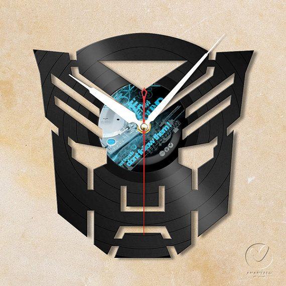 vinyl wall clock  Transformers by Anantalo on Etsy, ฿1100.00