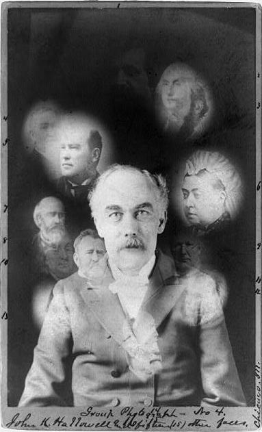 Ca 1870 1910 Carte De Visite Photograph Of A Gentleman Surrounded